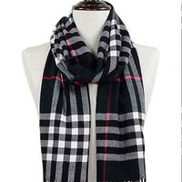 Soft Plaid Scarves