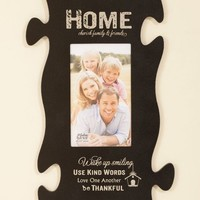 Home - Puzzle Piece Picture Frame