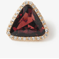 Faux Gem Triangle Studs | FOREVER 21 - 1031557411