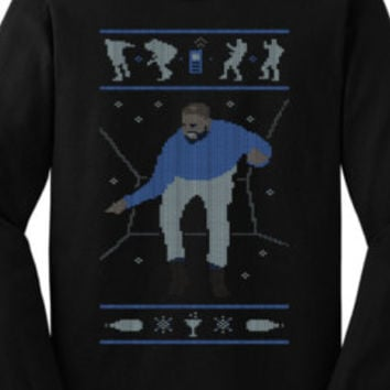 Drake Ugly Christmas Hotline Bling Sweatshirt