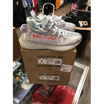 Yeezy Boost 350 V2 B37571 Blue Tint Size 4