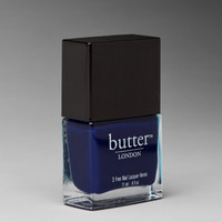 butter LONDON 3 Free Lacquer in Blue