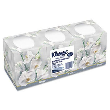Kleenex Facial Tissue 95 Tissues Per Box, 3 Boxes/Pack, Sold as 1 Package