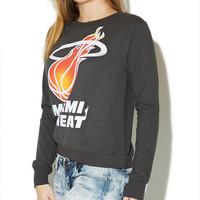 Miami Heat Sweatshirt | Wet Seal