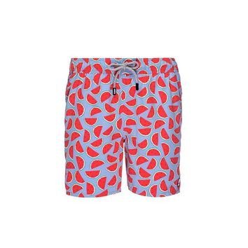 Tom & Teddy Watermelon Trunks Blue