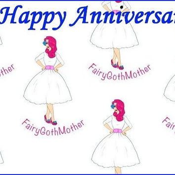FairyGothMother Gift Card Happy Anniversary