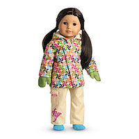 American Girl® : Snowboard Outfit + Charm