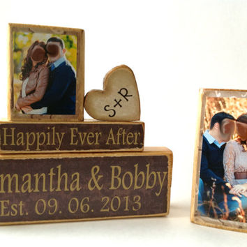 Personalized Wedding gift/Decoration Happily Ever After wedding, shower, anniversary, Valentines Day gift