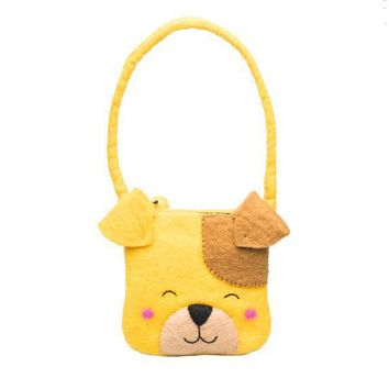 Felt Wool Bag - Puppy Bag