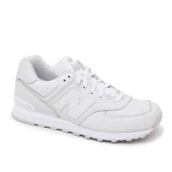 New Balance 574 Summer White Out Shoes - Mens Shoes - White
