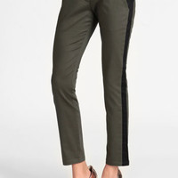 Hidden Agenda Colorblocked Skinny Pants - $42.00 : ThreadSence, Women's Indie & Bohemian Clothing, Dresses, & Accessories