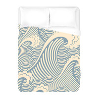 Waves of Chic Duvet Cover
