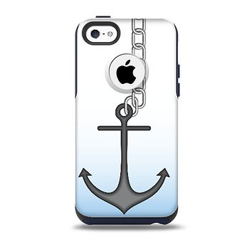 The Gray Chained Anchor Skin for the iPhone 5c OtterBox Commuter Case