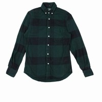 GITMAN BROTHERS X OPENING CEREMONY BIG CHECK BUTTON-DOWN - MEN - TOPS - GITMAN BROTHERS X OPENING CEREMONY
