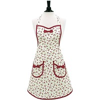 Retro Cherries Audrey Apron ~ Mommy & Me
