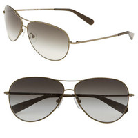 Tory Burch Metal Aviator Sunglasses | Nordstrom
