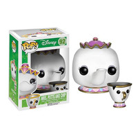 Funko POP! Disney - Vinyl Figure - MRS POTTS & CHIP (Beauty & The Beast) (Pre-Order ships TBD): BBToyStore.com - Toys, Plush, Trading Cards, Action Figures & Games online retail store shop sale