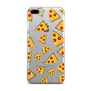Digital Pepperoni Pizza Custom iPhone Case