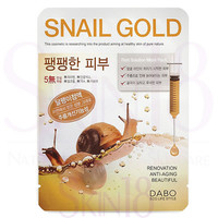DABO First Solution Snail Gold Mask Sheet Pack