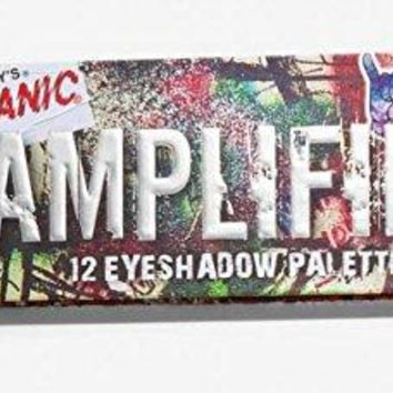 Tish And Snooky''s Manic Panic NYC Amplified Eyeshadow Palette! Includes 12 Colors And One Eyeshadow Brush!