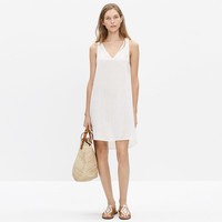 Havana Cover-Up Dress in Pure White