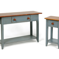 Cottage Sofa Table and Bedside Table