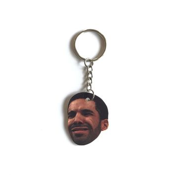 Confused Drake Inspired Keychain