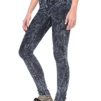 Acid Wash Skinny Jeans - Bottoms - Clothes | GYPSY WARRIOR