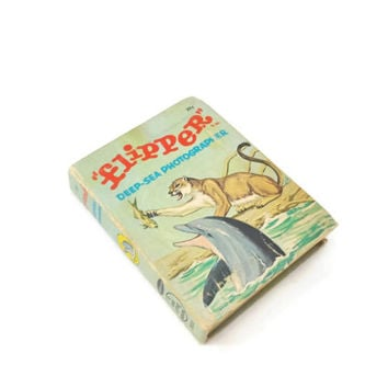 Vintage Flipper Deep Sea Photographer Book