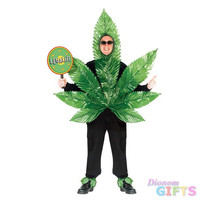 Men's Costume: Ganja Mon-One Size