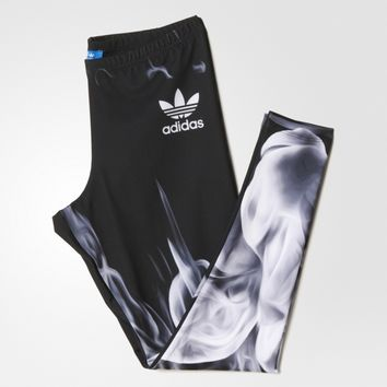 Adidas Originals Smoke Series Gym Yoga Running Leggings Sweatpants
