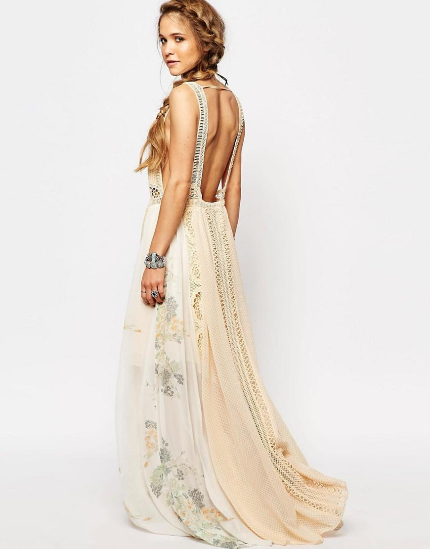 Free People Queen Of The Sun Printed Maxi from ASOS