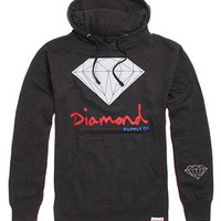 Diamond Supply Co Script Logo Pullover Hoodie at PacSun.com