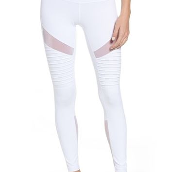 Zella Autumn High Waist Moto Ankle Leggings | Nordstrom
