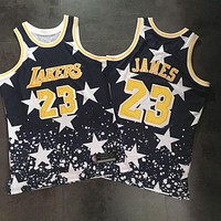 Independence Day #23 LeBron James Swingman Jersey