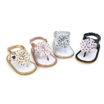 Baby girls sandal shoes Tassel Flower girl Sandals Toddler Princess Girls Kid Shoes sa