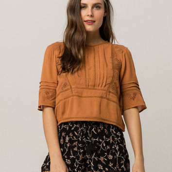 AMUSE SOCIETY Island Vista Womens Top