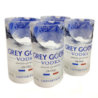 Four Grey Goose Tumblers- Made From Recycled Bottles