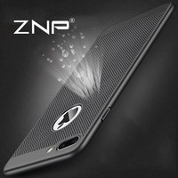 ZNP Heat dissipation phone hard Back PC Cases For iPhone 6 6s 7 plus Case Full Cover Phone case For iPhone 7 7Plus Protect shell
