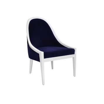 Worlds Away Browning Lacquer Chair