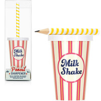 MILKSHAKE SHARPENER + PENCIL