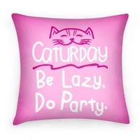 Caturday (pillow)