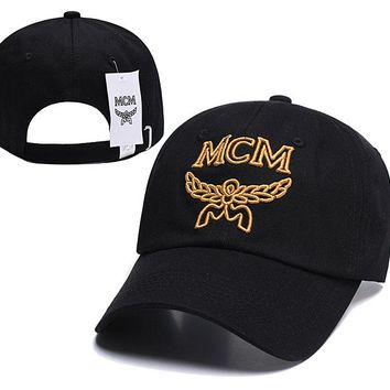 MCM Embroidered Embroidered Outdoor Baseball Cap Hat