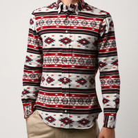Gitman Brothers Vintage FW12 Japanese Brushed Flannel Aztec Print - CONTEXT CLOTHING - Free Shipping!