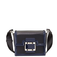 Roger Vivier Viv Mini Leather Shoulder Bag