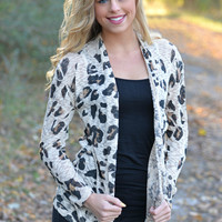 Be Fierce Leopard Cardigan