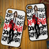 Don't forget Demi lovato Z1642 LG G2 G3, Nexus 4 5, Xperia Z2, iPhone 4S 5S 5C 6 6 Plus, iPod 4 5 Case