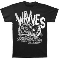 Rockabilia Wavves Cynical Cats T-shirt Medium