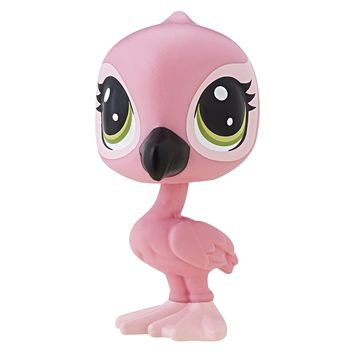Littlest Pet Shop Single Pet 3in. Bobble-head Figurine - Flamingo / Bella Flamenco