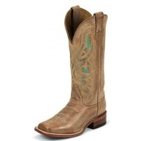 Nocona Ladies Cowgirl Boots Honey Cowhide